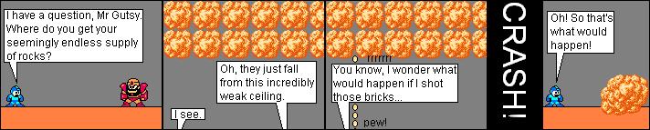 Large, heavy rockfall