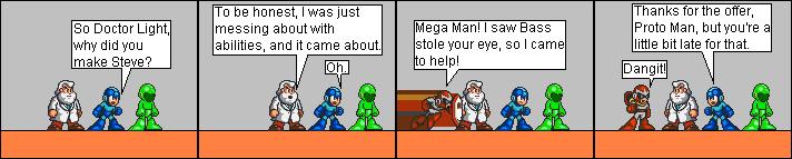 Protoman's Late