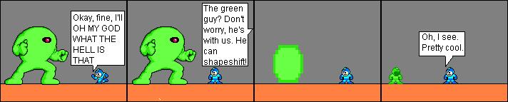 Meet the green guy