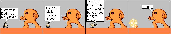 Yellow Devil: Attempt 1