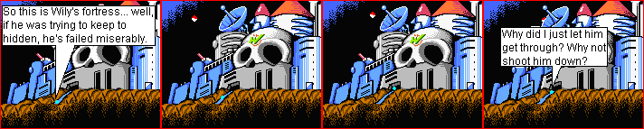 Wily's Fortress