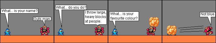 Large, heavy rocks